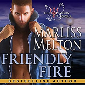Armen Taylor narrates Friendly Fire Audibook by Marliss Melton